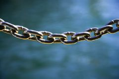 Metal chain. Stock Photography