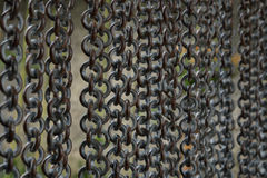 Metal chain background Stock Photography