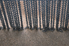 Metal chain background Royalty Free Stock Images