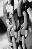 Metal chain Royalty Free Stock Photography