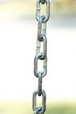 Metal chain detail Royalty Free Stock Photography