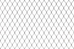 Metal chain link fence background texture isolated Royalty Free Stock Photo