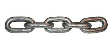 Metal chain link 2 Stock Photos