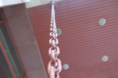 Metal chain linked fence close up Stock Photos