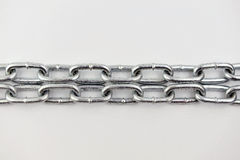 Metal chain links Royalty Free Stock Photo
