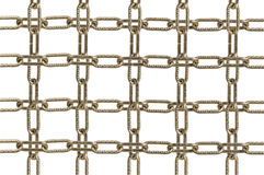 Metal chain parts Royalty Free Stock Photography