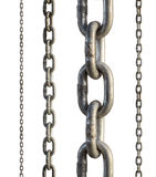 Metal chain Stock Photo