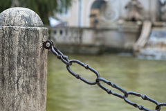 Metal Chain Royalty Free Stock Photos