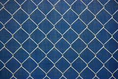 Metal chainlink grid Stock Images