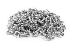 Metal chains Royalty Free Stock Photography
