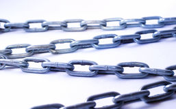 Metal Chains Royalty Free Stock Image