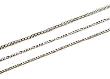 Metal chains Stock Image