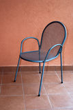 Metal chair Royalty Free Stock Photography