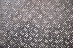 Metal Checker Plate Pattern for Backgrounds Royalty Free Stock Photo