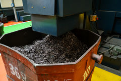 Metal chip Royalty Free Stock Image