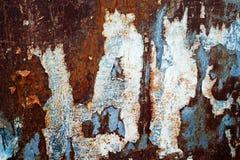 Metal ściana Zdjęcia Royalty Free