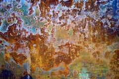 Metal ściana Obraz Stock