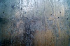 Metal ściana Obraz Royalty Free