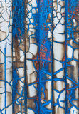Metal ściany farba Fotografia Stock