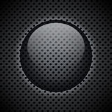 Metal circular grid Royalty Free Stock Image