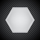 Metal circular grid Royalty Free Stock Photo