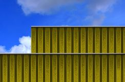 Metal clad building Royalty Free Stock Photo
