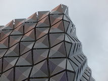 Metal Cladding on building Stock Images