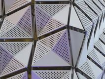 Metal Cladding on building Royalty Free Stock Photography