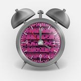 Metal Classic Style Alarm Clock Royalty Free Stock Images