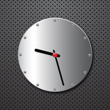 Metal clock Royalty Free Stock Photos