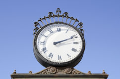 Metal clock Stock Photography