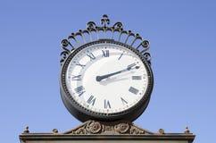 Metal clock Stock Photography