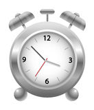 Metal  Clock Stock Image