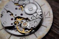 Metal clock works. royalty free stock images