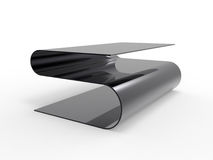 Metal Coffee Table Royalty Free Stock Photo