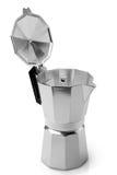 Metal coffeepot Stock Photos
