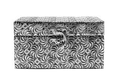Metal coffer Royalty Free Stock Photo