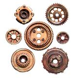 Metal cog machine stock photography