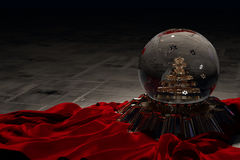 Cog Snow-Globe Stock Photo