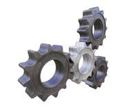 Metal cogwheels Stock Photography
