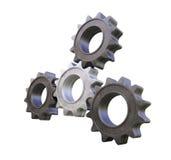 Metal cogwheels Stock Image