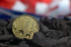 Metal coin Stock Photo