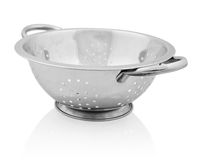 Metal colander  Royalty Free Stock Image
