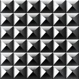 Metal color square pattern Royalty Free Stock Images