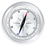 Metal compass Royalty Free Stock Photo