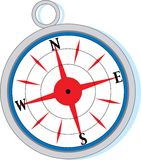 A metal compass Royalty Free Stock Photo