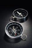 Metal compass Stock Photography