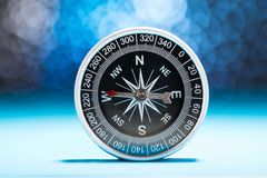 Metal compass Royalty Free Stock Photography