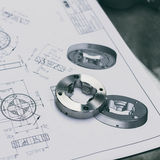 Metal component Royalty Free Stock Photography