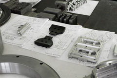 Metal component Stock Photos